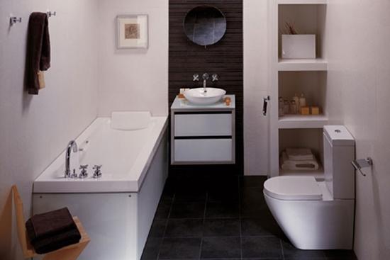 Opzioni per finire un piccolo bagno progettazione di un piccolo